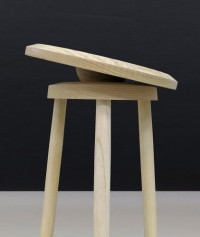 This Wobbly Stool Forces You to determine when you sit