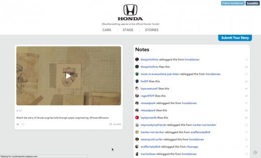 """Honda Follows Through Online After Debut Of Stunning 2-Minute """"Paper"""" Animated TV Spot"""