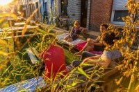 Belgian Streets got rid of vehicles And turned into stunning Parks This summer time