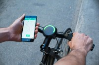 This sensible Bike Navigation device relies On A Slick Ambient UI