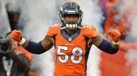 Von Miller Forces Cam Newton To Fumble; Makes Early MVP observation In super Bowl