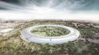 """New Drone pictures presentations Apple's """"Spaceship"""" Campus Taking form"""