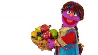 Sesame side road's newest Muppet Is A pink Feminist From Afghanistan