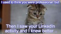 Do you look like a idiot on LinkedIn? (And We Don't just mean in April)