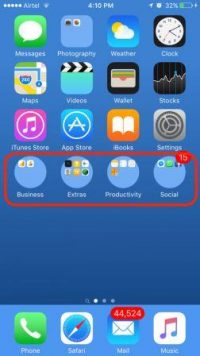 How to Make Home Screen Folders Round in iPhone Without Jailbreaking