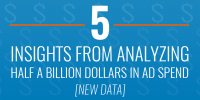 5 Insights from Analyzing Half a Billion Dollars in Ad Spend