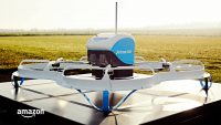 Amazon delivered its first order via drone