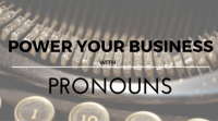 Power Your Business With Pronouns