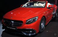 The Mercedes-Maybach S650's top feature is exclusivity