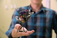 UC Berkeley researchers built a wall-jumping robot