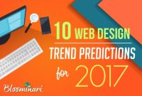 10 Web Design Trends & Predictions For 2017 [Infographic]