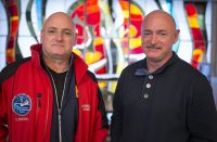 NASA studies astronaut twins to observe the rigors of space