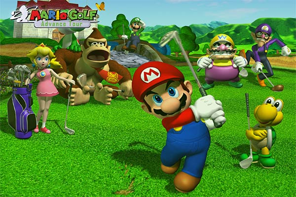 best gba games of all times mario-golf-advance-tour