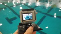 Analyzing your swim technique in the pool with the GoPro HD