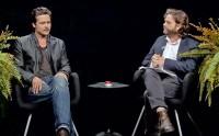 Brad Pitt Visits 'Between Two Ferns' With Zach Galifianakis