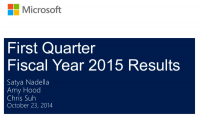 Microsoft Revs Beat ($23.2B) but it surely Sells less than 10M telephones