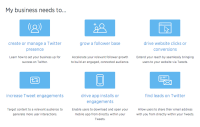 Twitter Redesigns Twitter For Business Site