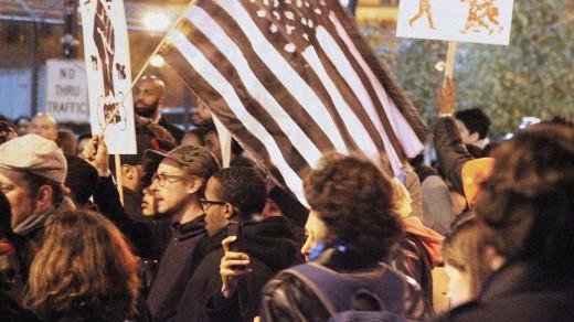 Visualizing The Political fight Over Ferguson On Twitter