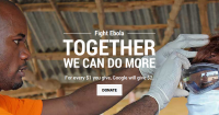 Google will provide $2 for each $1 you donate in fight towards Ebola