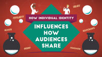 How individual identity Influences the way Audiences Share [Survey Data]