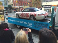 Bravo 'Vandalizes' vehicles To Spark Social conversation About 'Girlfriends' guide To Divorce'