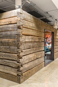 How Twitter introduced 19th-Century Log Cabins To Downtown San Francisco