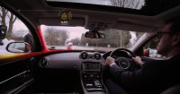 This Car Politely Helps Drivers Avoid Killing Cyclists And Pedestrians