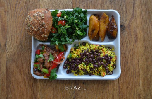 Take A Mouth-Watering Tour Of School Lunches From Around The World (And The Embarrassing U.S. Equivalent)