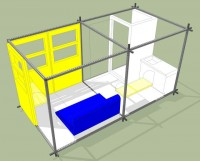 A Tiny Modular Housing machine For Cities the place real Housing is just too dear To find the money for