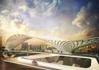 87 sensible Designs For a new Pedestrian-cycling Bridge In London