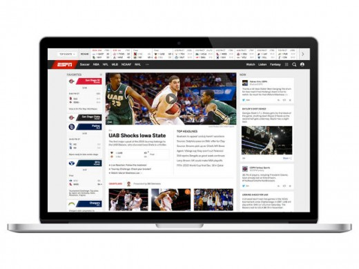 ESPN just Redesigned Its website online For the first Time due to the fact 2007—listed below are 4 Takeaways