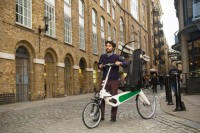 Designed With A Roll Cage, This Bicycle Can survive A Crash With A Semi