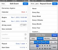 Your iPhone's Keyboard simply become the ultimate Calendar App