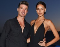 Robin Thicke Out With girlfriend To Cannes birthday celebration; His response To Alan Thicke's sex music Confession