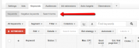 AdWords trying out New Search question report layout