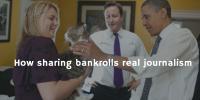 How Sharing Bankrolls real Journalism