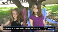 Police Shut Down illegal Lemonade Stand in Texas