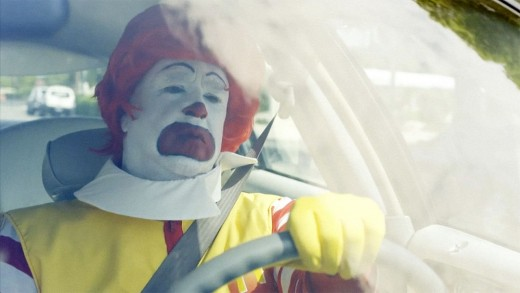 A Former Ronald McDonald shows You never actually depart The Wig behind on this Bleak Mini-Doc