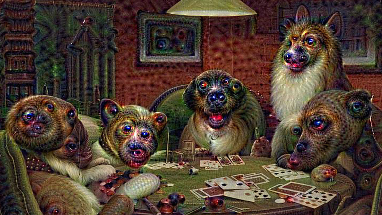 Google Deep Dream AI Hallucinates In Dog Faces   DeviceDaily.com
