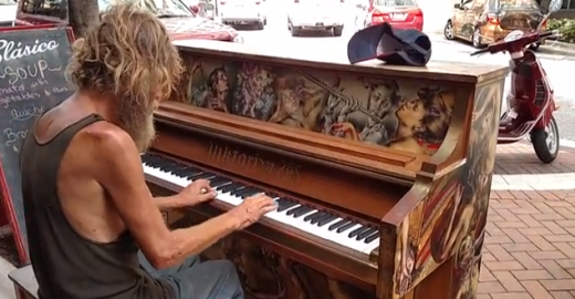 Homeless Piano Prodigy Receives Full Scholarship to finish school schooling, Reunites With Son (Video)