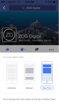 facebook's Prioritized stories Urge manufacturers to adjust Social technique