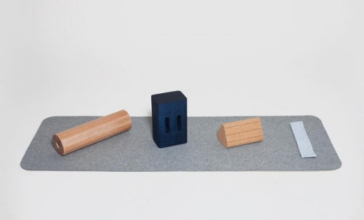 A Thoughtfully Designed Yoga Set made from pure materials