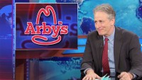 "Arby's Rises Above Years Of ""daily show"" Mockery, Runs Jon Stewart Tribute ads"