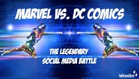 surprise vs. DC Comics: The Legendary Social Media combat