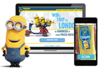 Chiquita Teams With Universal's Minions For In-Store Mobile Game Experience