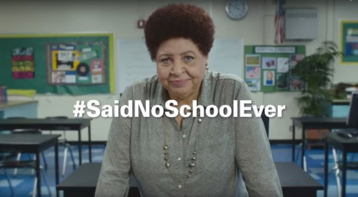 In Hefty's #SaidNoSchoolEver marketing campaign, academics sarcastically Proclaim they have all of the supplies They need