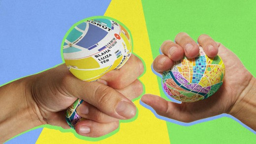 Squeeze This Stress Ball Tourism Map To Zoom In
