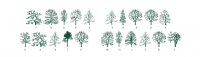 For Naturephiles simplest: A Typeface fabricated from trees
