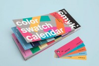 the colour-Of-The-Day Calendar Turns Your Weeks Into Palettes