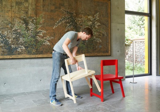 Peep These aspect Chairs That Cleverly turn into right into a Bench